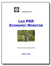 Lao Pdr Economic Monitor by The World Bank