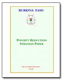 Poverty Reduction Strategy Paper : Burki... by The World Bank