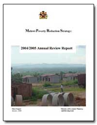 Malawi Poverty Reduction Strategy by The World Bank