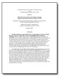 International Development Association an... by Nankani, Gobind T.