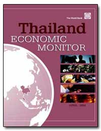 Thailand Economic Monitor by Matin, Kazi M.