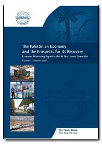 The Palestinian Economy and the Prospect... by The World Bank