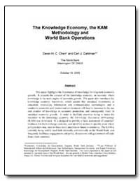 The Knowledge Economy, The Kam Methodolo... by Chen, Derek H. C.