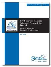 Civil-Service Pension Schemes Around the... by Palacios, Robert