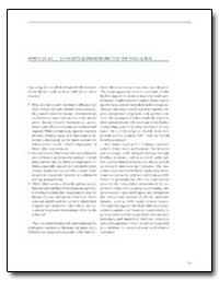 Appendix A2 : Conceptual Framework for t... by The World Bank