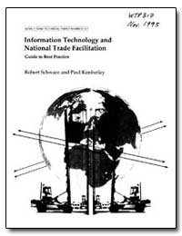 Information Technology and National Trad... by Schware, Robert