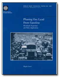 Phasing Out Lead from Gasoline by Watson, Robert T.