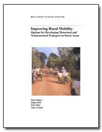 Improving Rural Mobility : Options for D... by Starkey, Paul
