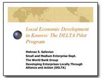 Local Economic Development in Kosovo : T... by Safavian, Mehnaz S.