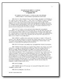 Interview of John F. C. Turner World Ban... by The World Bank
