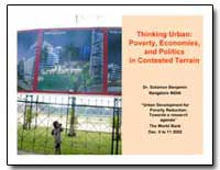 Thinking Urban : Poverty, Economies, And... by Benjamin, Solomon, Dr.