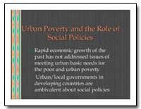 Urban Poverty and the Role of Social Pol... by The World Bank