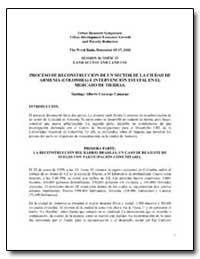 Proceso de Reconstruccion de Un Sector d... by The World Bank