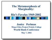 The Metamorphosis of Marginality : Rios ... by Perlman, Janice E.