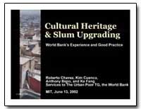 Cultural Heritage and Slum Upgrading by Chavez, Roberto