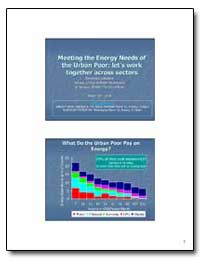 Meeting the Energy Needs of the Urban Po... by The World Bank