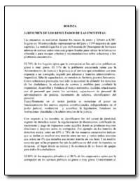 Bolivia 1 Resumen de Los Resultados de l... by The World Bank