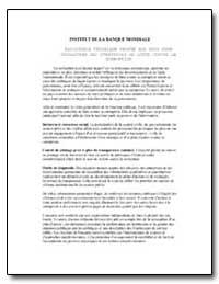 Institut de la Banque Mondiale : Assista... by The World Bank
