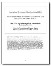 International Development Ethics Associa... by The World Bank