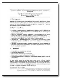 Encuentro de Quito : Reflexiones, Accion... by Klitgaard, Robert