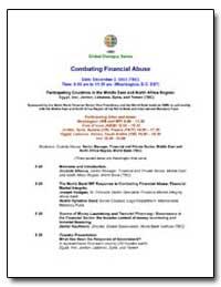 Global Dialogue Series Combating Financi... by Allaoua, Zoubida