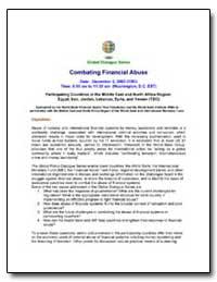 Global Dialogue Series Combating Financi... by Halligan, Joseph
