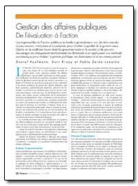 Gestion des Affaires Publiques de Levalu... by Kaufmann, Daniel