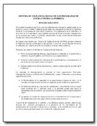 Sistema de Vigilancia Social de Los Prog... by The World Bank
