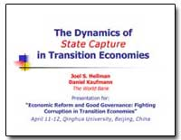 The Dynamics of State Capture in Transit... by Hellman, Joel S.