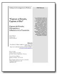 Capture Al Estado Capture El Dia by Hellman, Joel S.