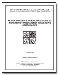 Money in Politics Handbook : A Guide to ... by The World Bank