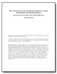 New Tools and New Tests in Comparative P... by Walsh, Patrick
