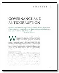 Governance and Anticorruption by The World Bank