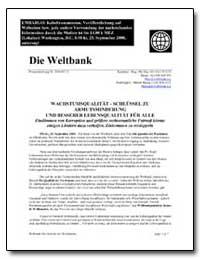 Pressemitteilung Nr. 2001/071/S: Die Wel... by The World Bank
