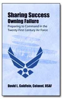 Sharing Success Owning Failure Preparing... by Goldfein, David L.