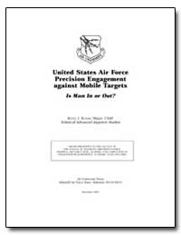 United States Air Force Precision Engage... by Kosan, Keith J.