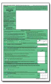 General Instructions by U. S. Census Bureau Department