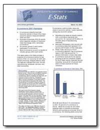 E-Commerce 2001 Highlights by U. S. Census Bureau Department