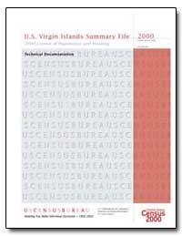 U.S. Virgin Islands Summary File 2000 by Bodman, Samuel W.