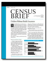Children Without Health Insurance by U. S. Census Bureau Department