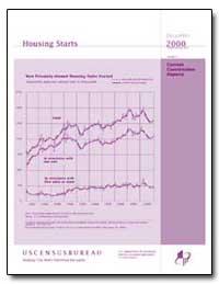 Housing Starts by U. S. Census Bureau Department