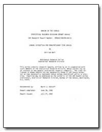 Signal Extraction for Nonstationary Time... by Bell, William R.