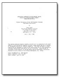 Content Evaluation of the 1982 Economic ... by Cor, Carol