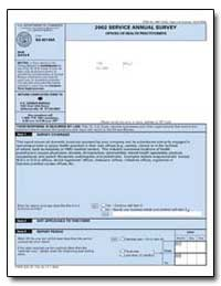 2002 Service Annual Survey Offices of He... by U. S. Census Bureau Department