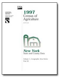 1997 Census of Agriculture : New York by U. S. Census Bureau Department