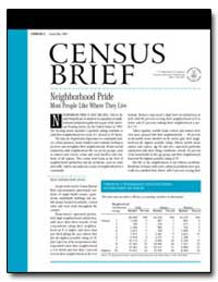 Traffic, Crime and Noise: Top Reasons fo... by U. S. Census Bureau Department
