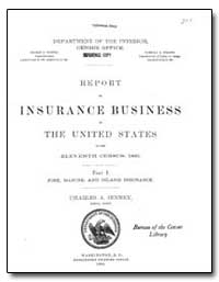 Insurance in Business the United at the ... by U. S. Census Bureau Department