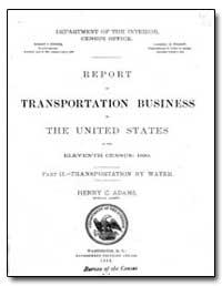 Report on Transportation Carroll D. Wrig... by Adams, Henry C.