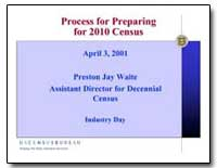 Process for Preparing for 2010 Census by Waite, Preston Jay
