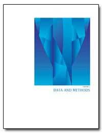 Data and Methods by U. S. Census Bureau Department